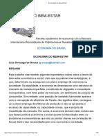 Lipsey artigo sobre ECONOMIA DO BEM-ESTAR