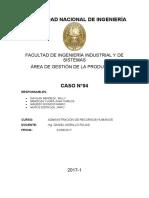 CASO DE RRHH DE CAMIONES SAN JOSE