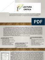LECTURA CRÍTICA ICFES