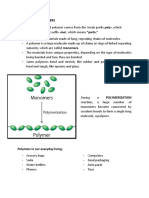 DEFINITION OF POLYMERS