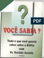 Nerildo Accioly - Tudo o Que Você Queria Saber Sobre a Bíblia.pdf