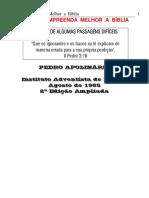 Pedro Apolinário - Leia e Compreenda Melhor a Bíblia