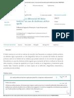Diagnóstico diferencial del dolor torácico_ un caso de síndrome aórtico agudo _ Medicina de Familia. SEMERGEN