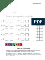 guia matematicas 5° Valor Posicional