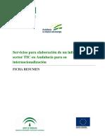 El sector TIC en Andalucía
