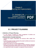 chapter-5_PROJECT  PLANNING AND IMPLEMENTATION