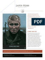 Come and See - Elem Klimov - Press Notes