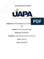 Tarea 6- Infotecnologia UAPA