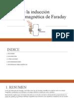 Ley de La Inducción Electromagnética de Faraday