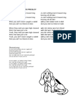 HOUND DOG – Elvis presley LYRICS.pdf