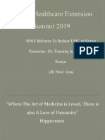 African Healthcare Extension Summit 2019