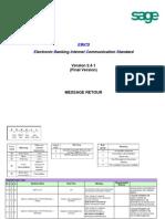 EBICS Technical Return Code