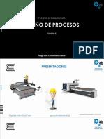 Sesión 06 - Procesos de Manufactura 2020 01