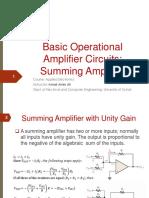 Lec4-Summing-Amplifier