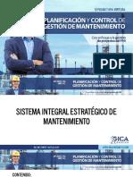 1.1. PR - SISTEMA INTEGRAL ESTRATÉGICO DE MANTENIMIENTO