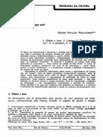 PERLONGHER, Néstor Osvaldo. Prostituição Viril. Rev. Arquivos brasileiros de psicologia. 1985