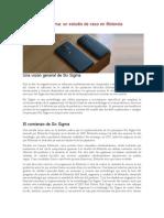 Caso Motorola_Six Sigma.docx