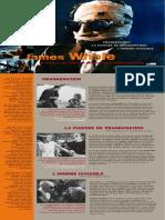 Plaquette James Whale (par Fabien Gaffez)