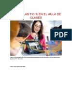 USO DE LAS TIC