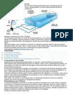 Projeto hidráulico para piscinas