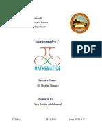 Noor Jawdat-Mathematics
