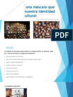 Elaboramos una máscara que represente nuestra identidad cultural