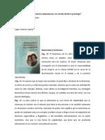 Apuntes libro Maternidad-autonomía y dependencia, un estudio desde la psicología.