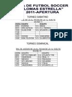 ROL DE JUEGOS 8 Y 9-ENE-11