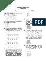 Examen grado 6 -19