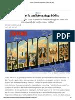 Turismo, la undécima plaga bíblica _ Cultura _ EL PAÍS