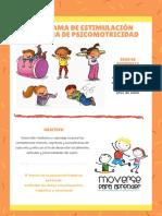 Programa psicomotricidad