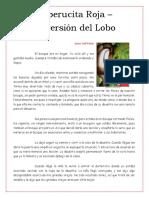 CAPERUCITA ROJA - LA VERSION DEL LOBO