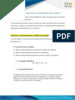 Anexo 1  - Guía para el desarrollo de la Tarea 1