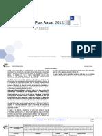 Planificacion Anual Matematica 2Basico-2016