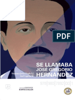 Libro Se Llamaba Jose Gregorio Hernandez