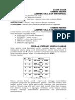 Standarisasi Menggambar Teknik Untuk Arsitek