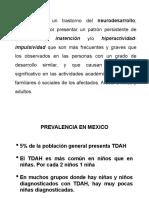diapositivas tdh
