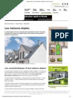 Les maisons duplex _ toutes les infos pratiques et avantages de ce type de construction