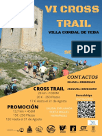 Vi Cross Trail Teba - Reglamento