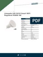 Lâmpada LED GU10 Smart WiFi