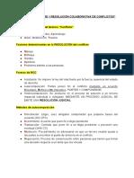 Estudio primera evaluación Mediación 2020
