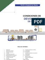 CONDICIONES DE DEVOLUCION DE OBJETOS