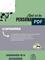 ¿Qué es la personalidad?