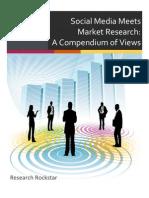 Social Media Meets Market Research