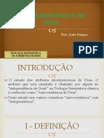 A INDEPENDªENCIA DE DEUS.pdf