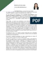 Presentación del Práctica Pre-Profesional I Comunicación