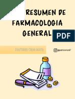 Resumen de Farmacología General