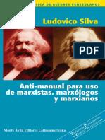 Anti-manual para uso de marxistas, marxólogos y marxianos by Ludovico Silva (z-lib.org)