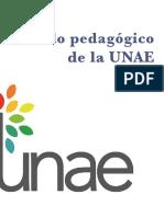 UNAE Modelo Pedagogico