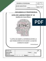 Guía Lab. 10 Casos Éticos (CE)